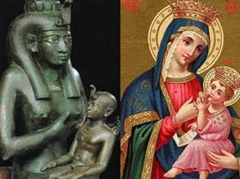 maria-vergine-bambino-iside-horus