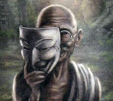 cambiare-se-stessi-maschera-gandhi