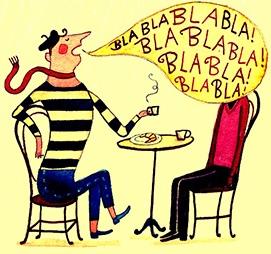 bla-bla-bla-parlare