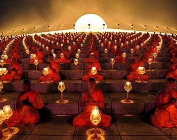 meditazione-buddista-candela