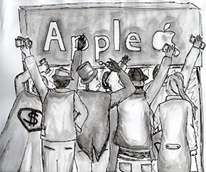 consumismo-apple-fila