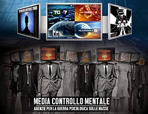 controllo mentale tg news